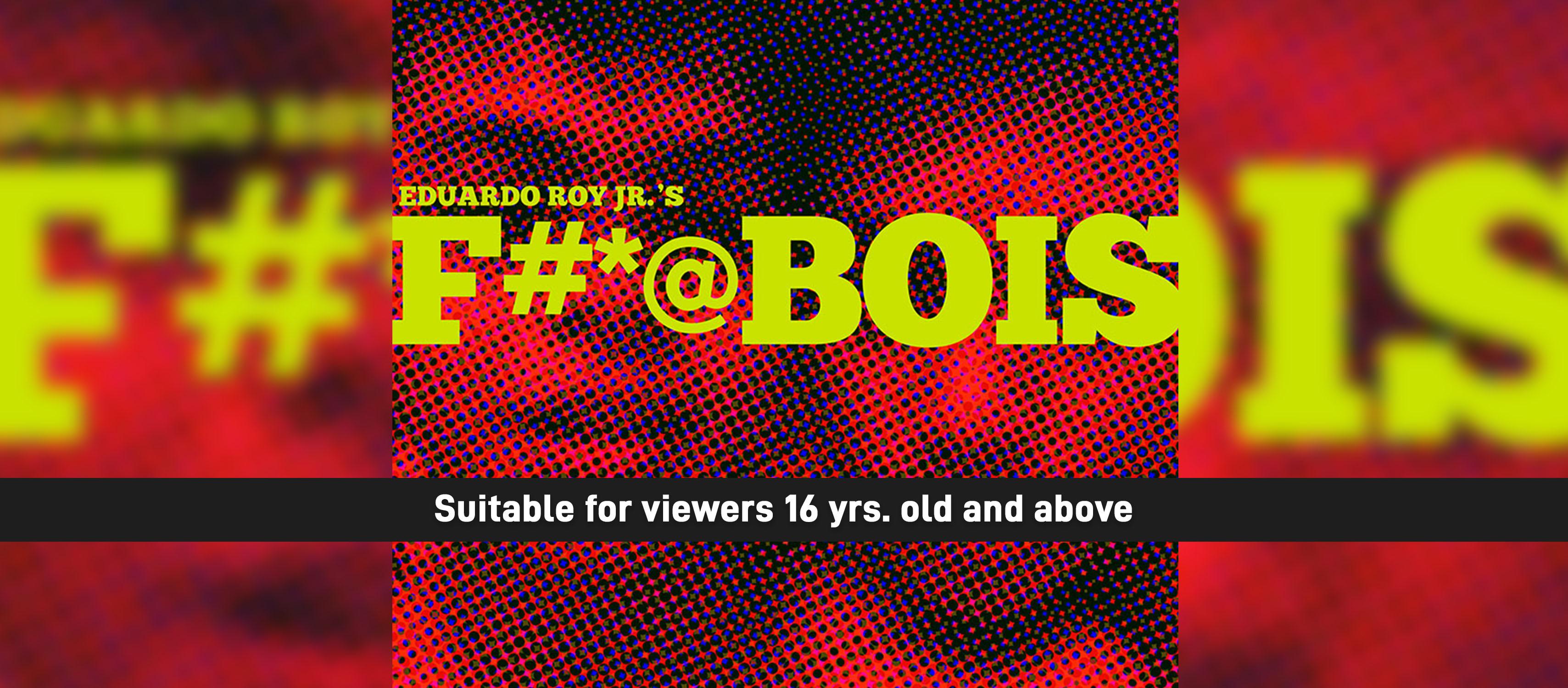 Ticket2Me | Cinemalaya 2019 - F#*@bois