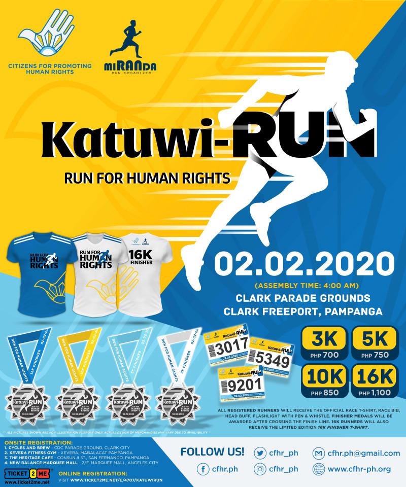 Katuwi-RUN: Run for Human Rights