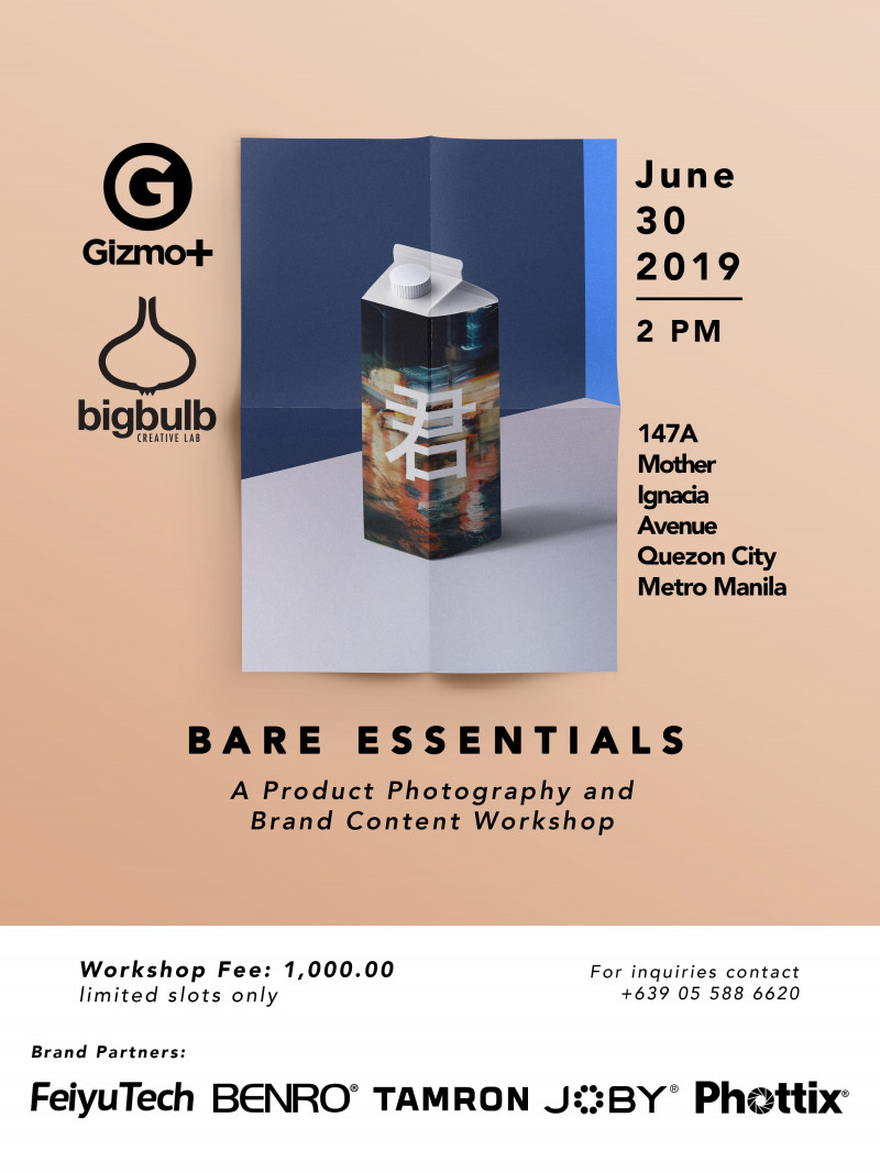 Bare Essentials: A Photography and Brand Content Workshop