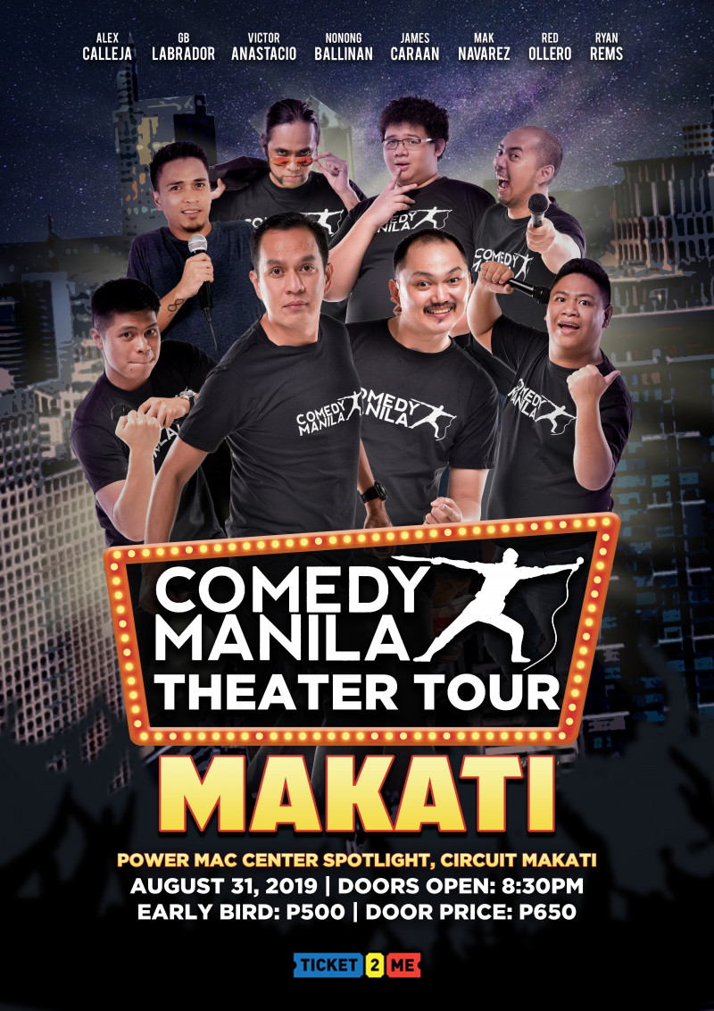 Comedy Manila Theater Tour: MAKATI