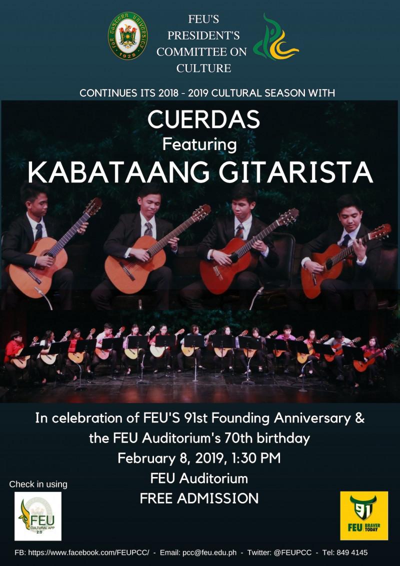 Chamber Series Featuring Kabataang Gitarista