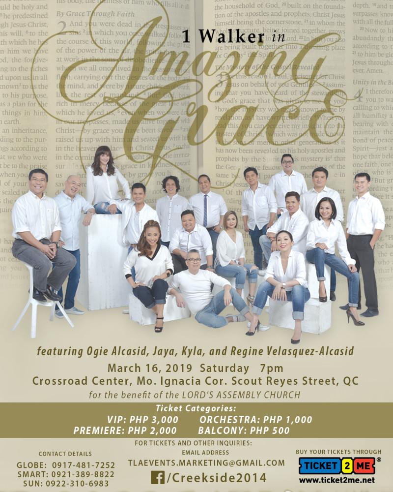 1 Walker Worship Concert: Amazing Grace