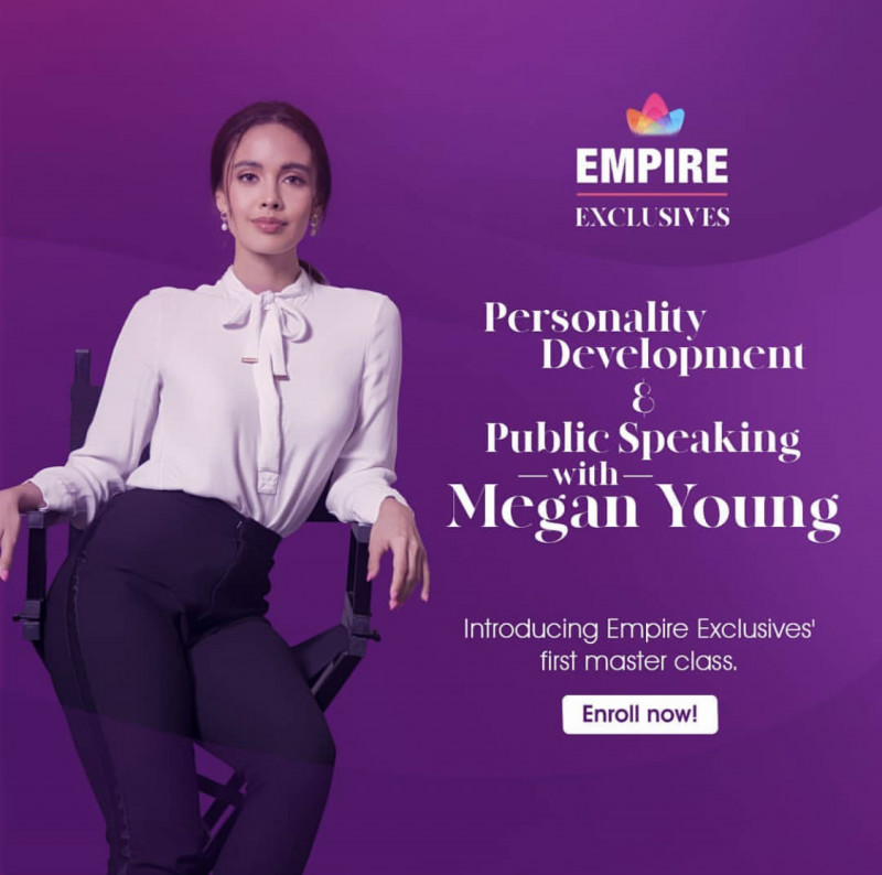 Empire Exclusives: Personality Development and Public Speaking by Megan Young