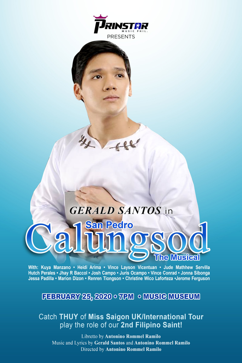 San Pedro Calungsod The Musical (MUSIC MUSEUM) – Free Seating