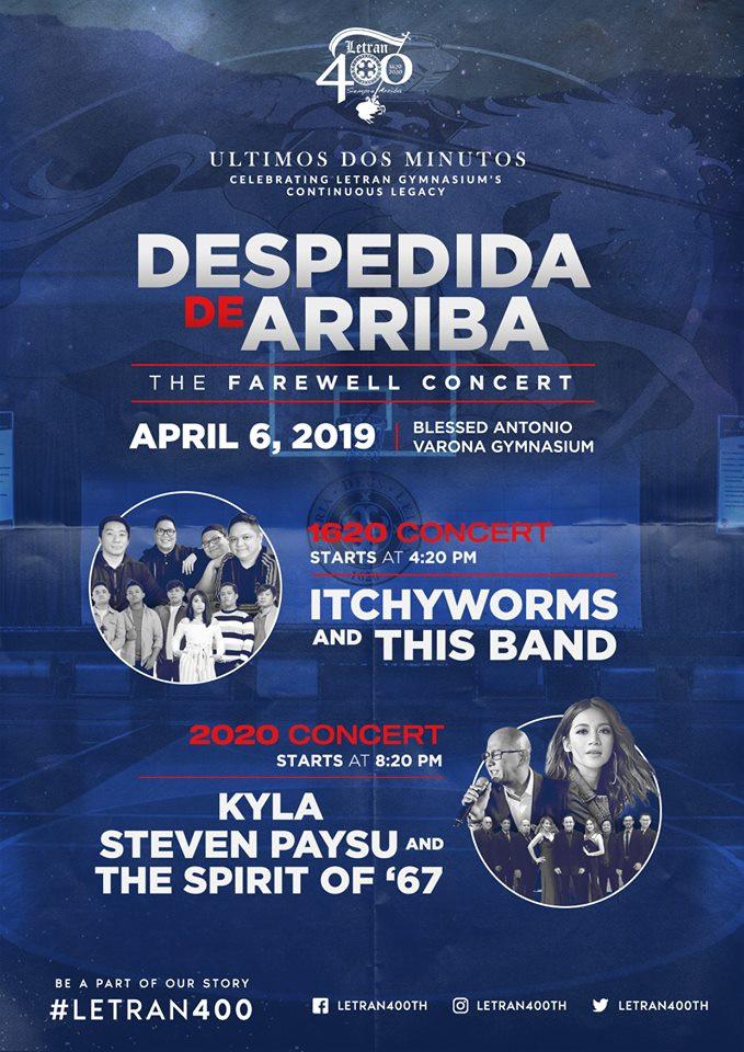 Despedida de Arriba (2020 Concert)