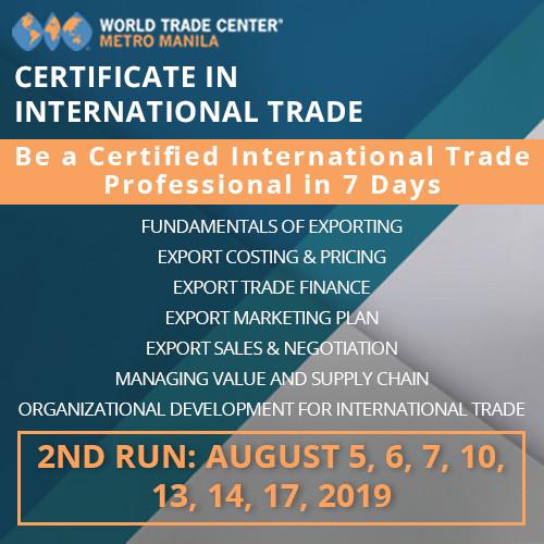 CERTIFICATE IN INTERNATIONAL TRADE PROGRAM IN 7 DAYS