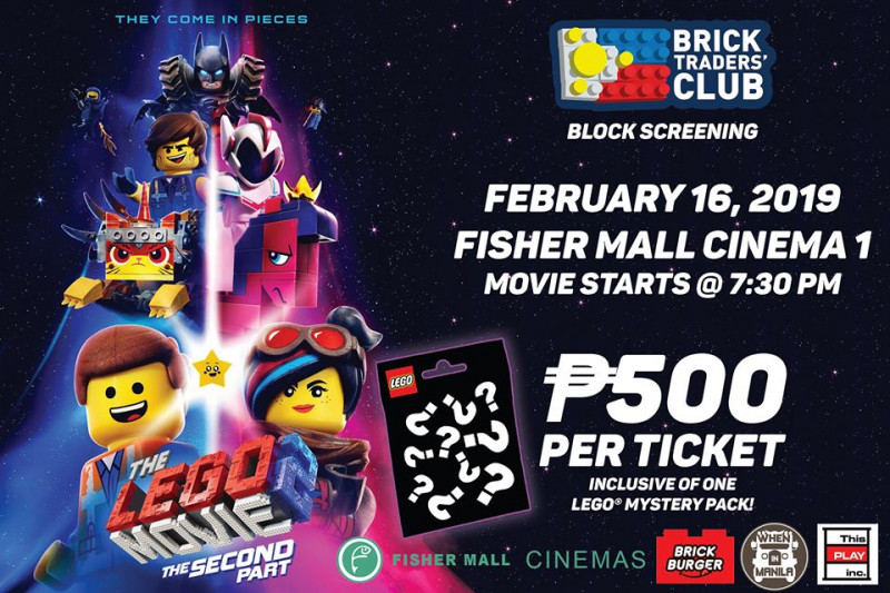 The Lego Movie 2 The Second Part Block Screening