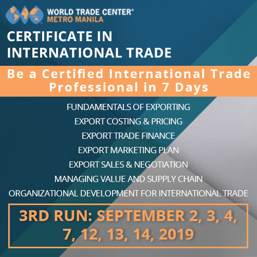 CERTIFICATE IN INTERNATIONAL TRADE PROGRAM IN 7 DAYS