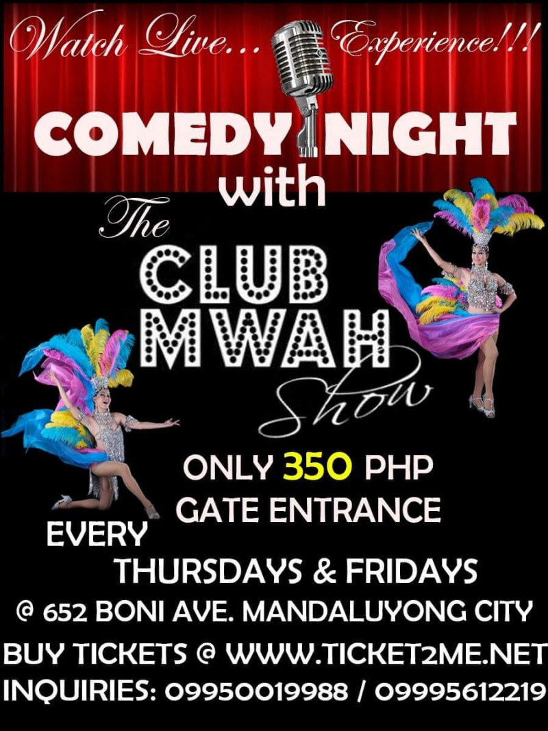 COMEDY NIGHT with THE CLUB MWAH SHOW