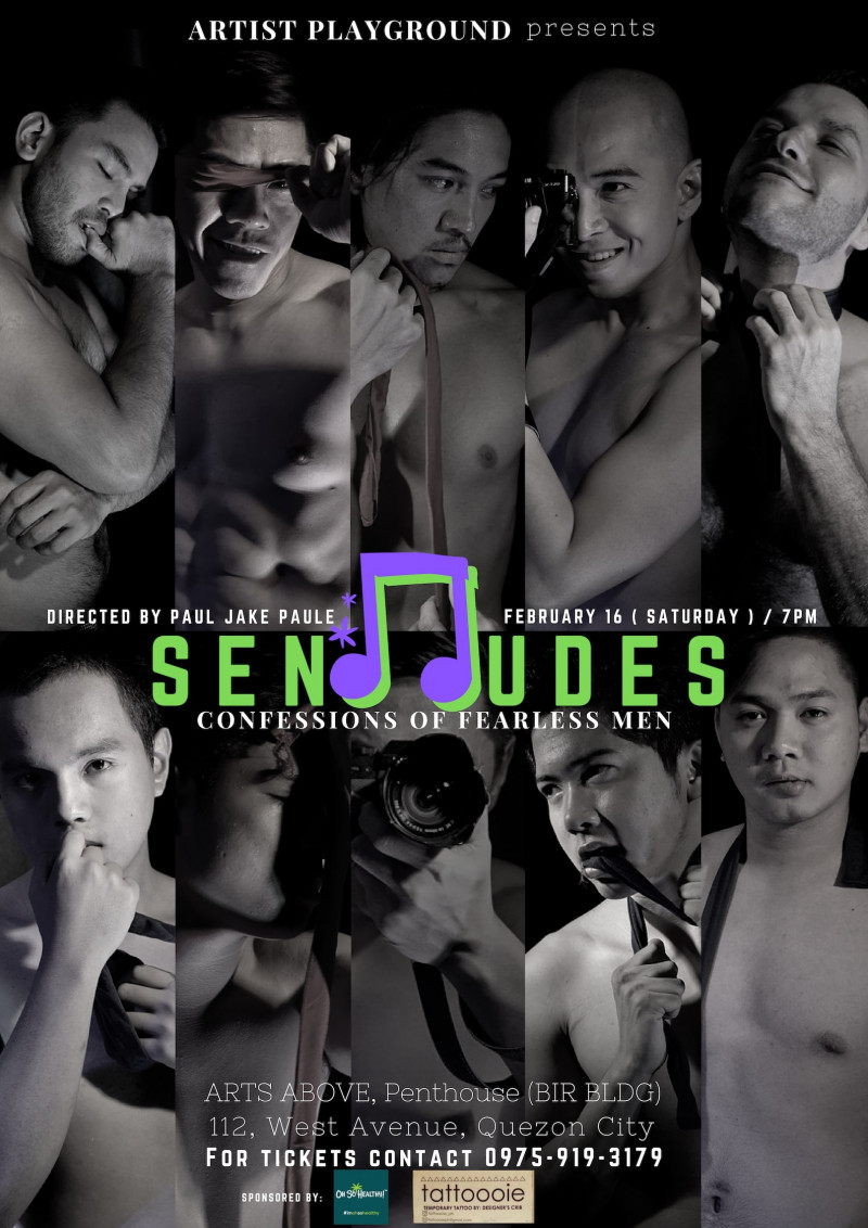 SENddUDES: Confessions of Fearless Men