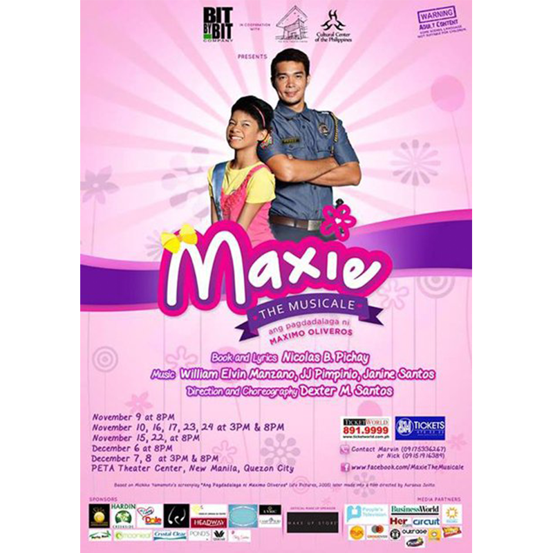 TEST EVENT: Maxie the Musicale