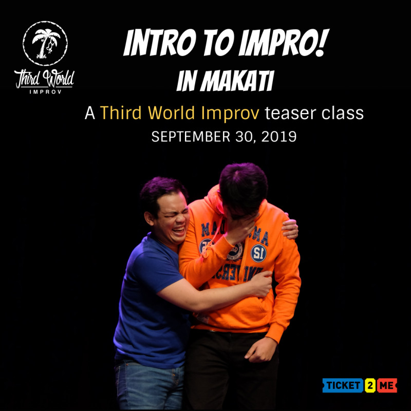 Intro to Impro in Makati: A Third World Improv Teaser Class