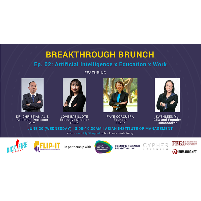 Breakthrough Brunch Ep. 02: Artificial Intelligence x Education x Work