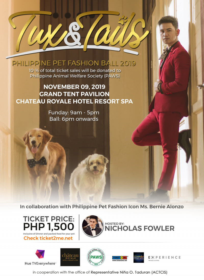 TUX & TAILS: Philippine Pet Fashion Ball 2019