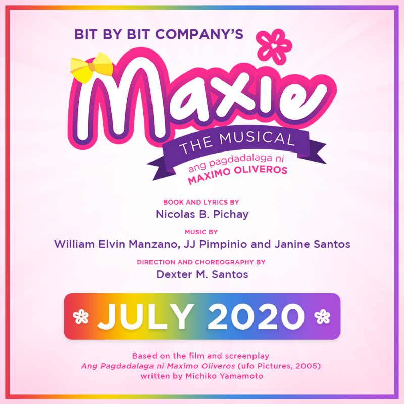 Maxie The Musical - July 3 Opening Night Flash Sale!