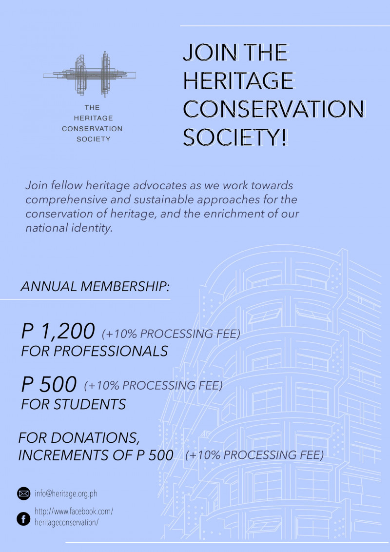 Heritage Conservation Society - Membership and Fundraising Campaign