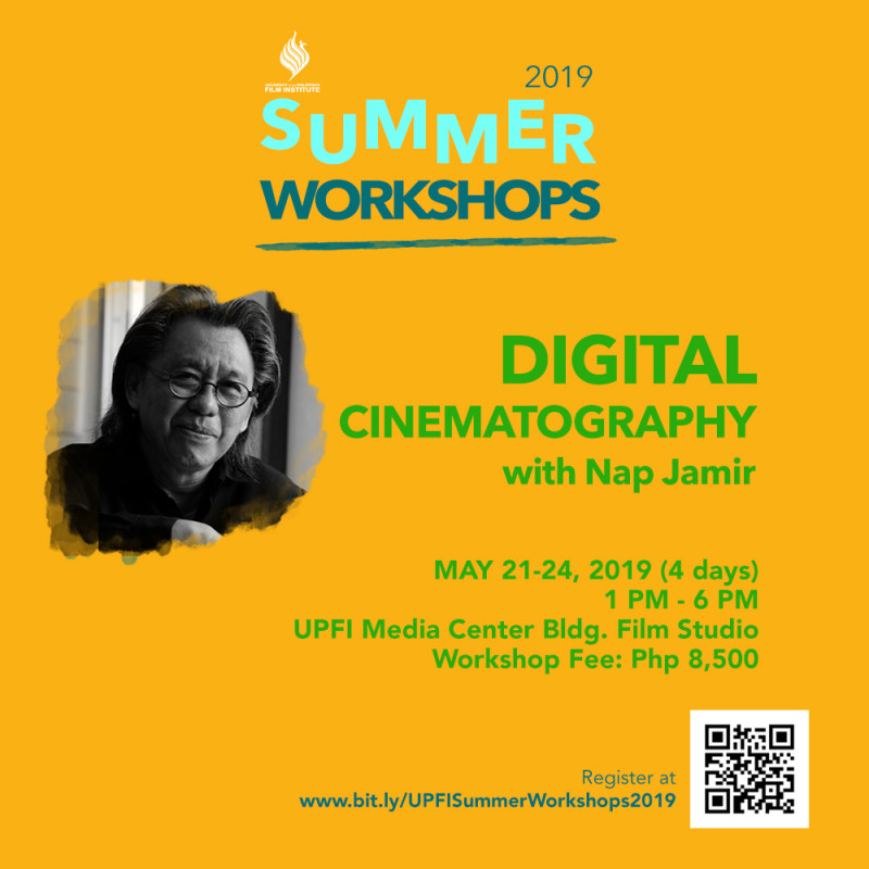 UPFI Summer Workshop 2019 (Digital Cinematography)