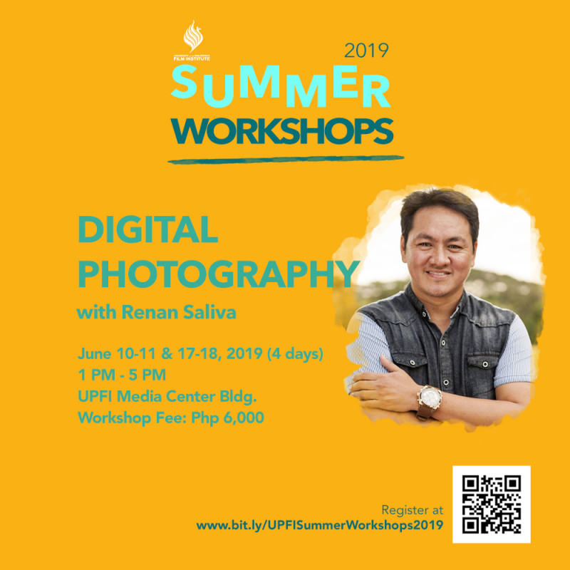 UPFI Summer Workshop 2019 (Digital Photography)