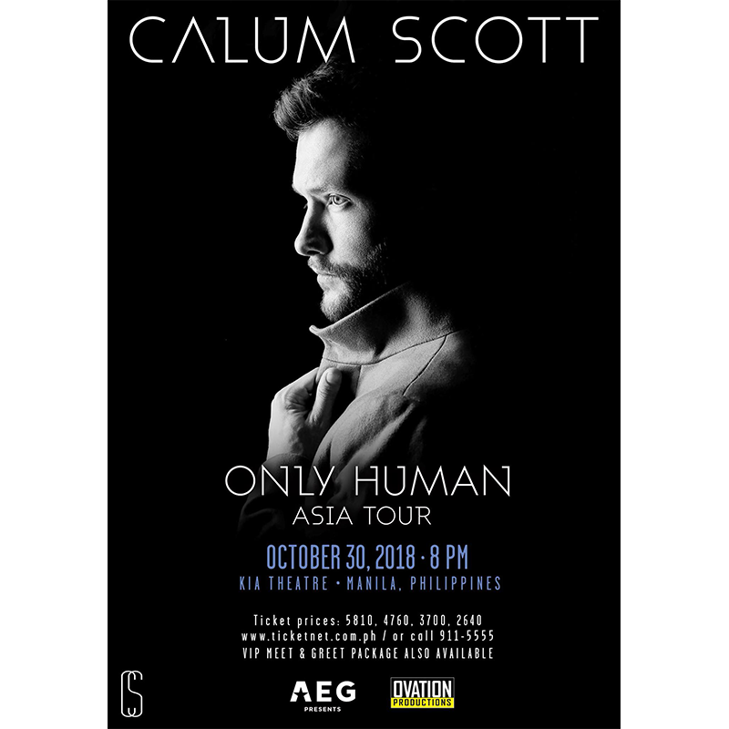 Only Human Tour: Calum Scott Live in Manila