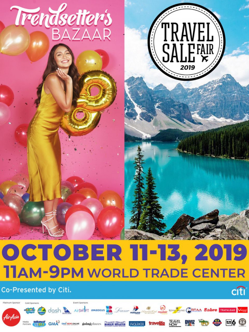 Travel Sale Fair 2019 x Trendsetter's Bazaar