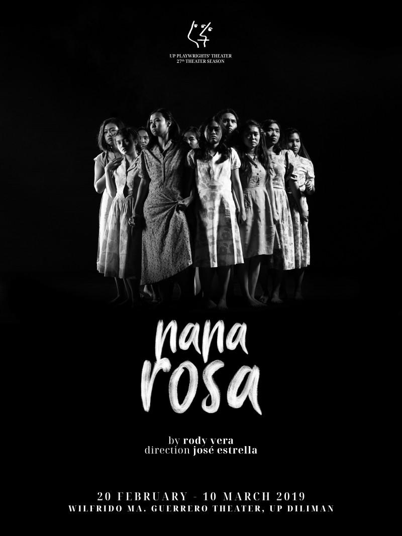 UP Playwright's Theatre's Nana Rosa