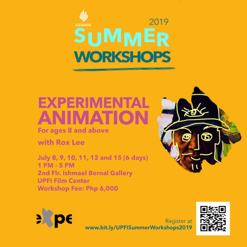 UPFI Summer Workshop 2019 (Experimental Animation)