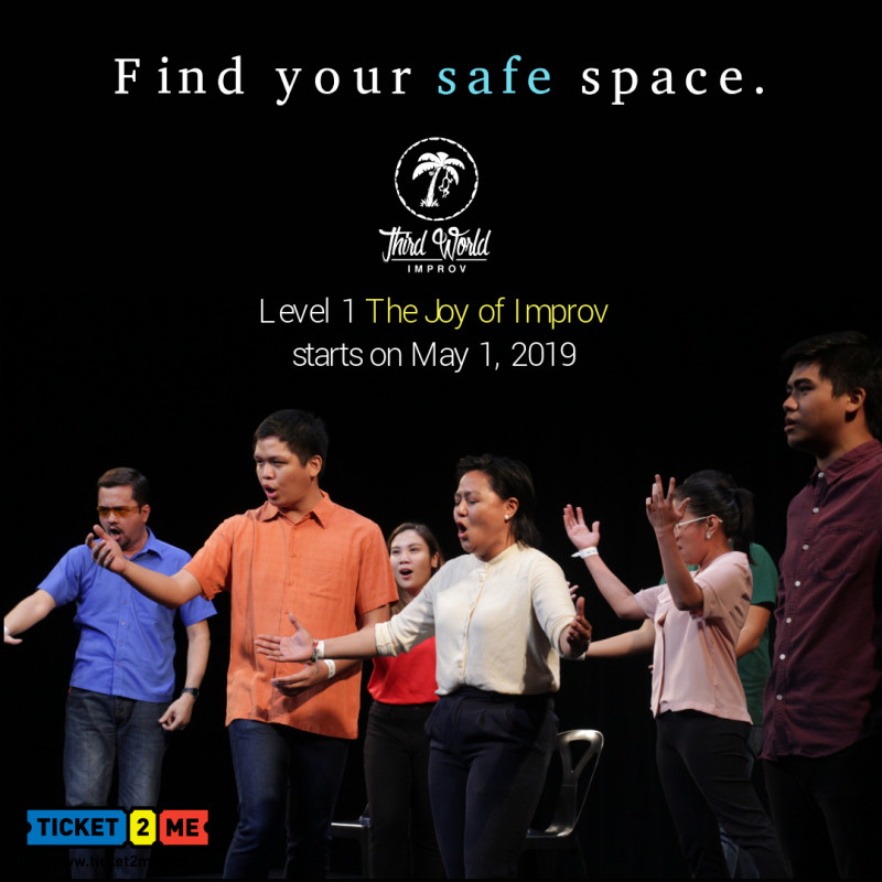 Improv Theater Workshop Level 1: The Joy of Improv in Makati
