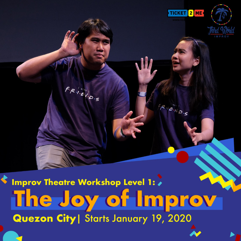 Improv Theater Workshop Level 1: The Joy of Improv in Quezon City