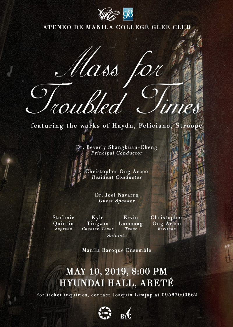 Mass for Troubled Times