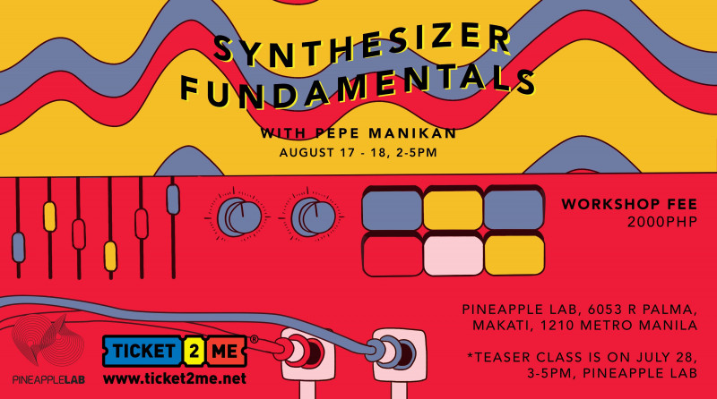 Synthesizer Fundamentals with Pepe Manikan