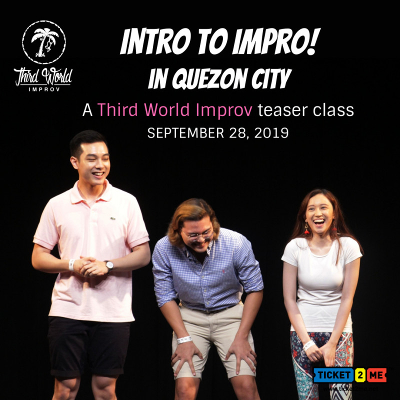 Intro to Impro in Quezon City: A Third World Improv Teaser Class