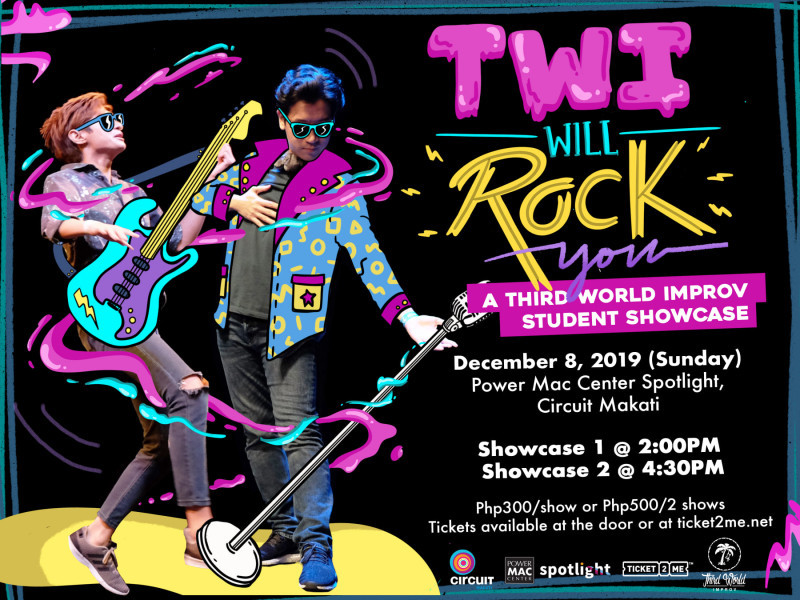 TWI Will Rock You: A Third World Improv Student Showcase