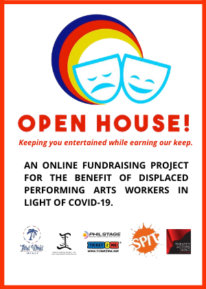 OPEN HOUSE: Fundraiser for Displaced Performing Arts Workers