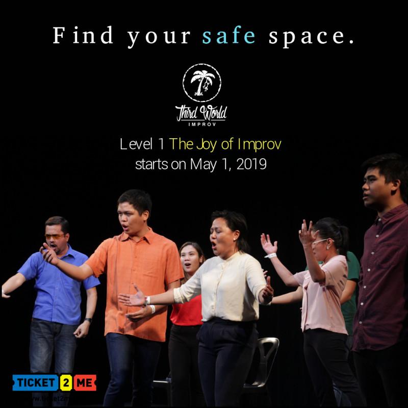 Improv Theater Workshop Level 1: The Joy of Improv